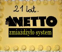 Netto zmiażdżyło system... prawie 1