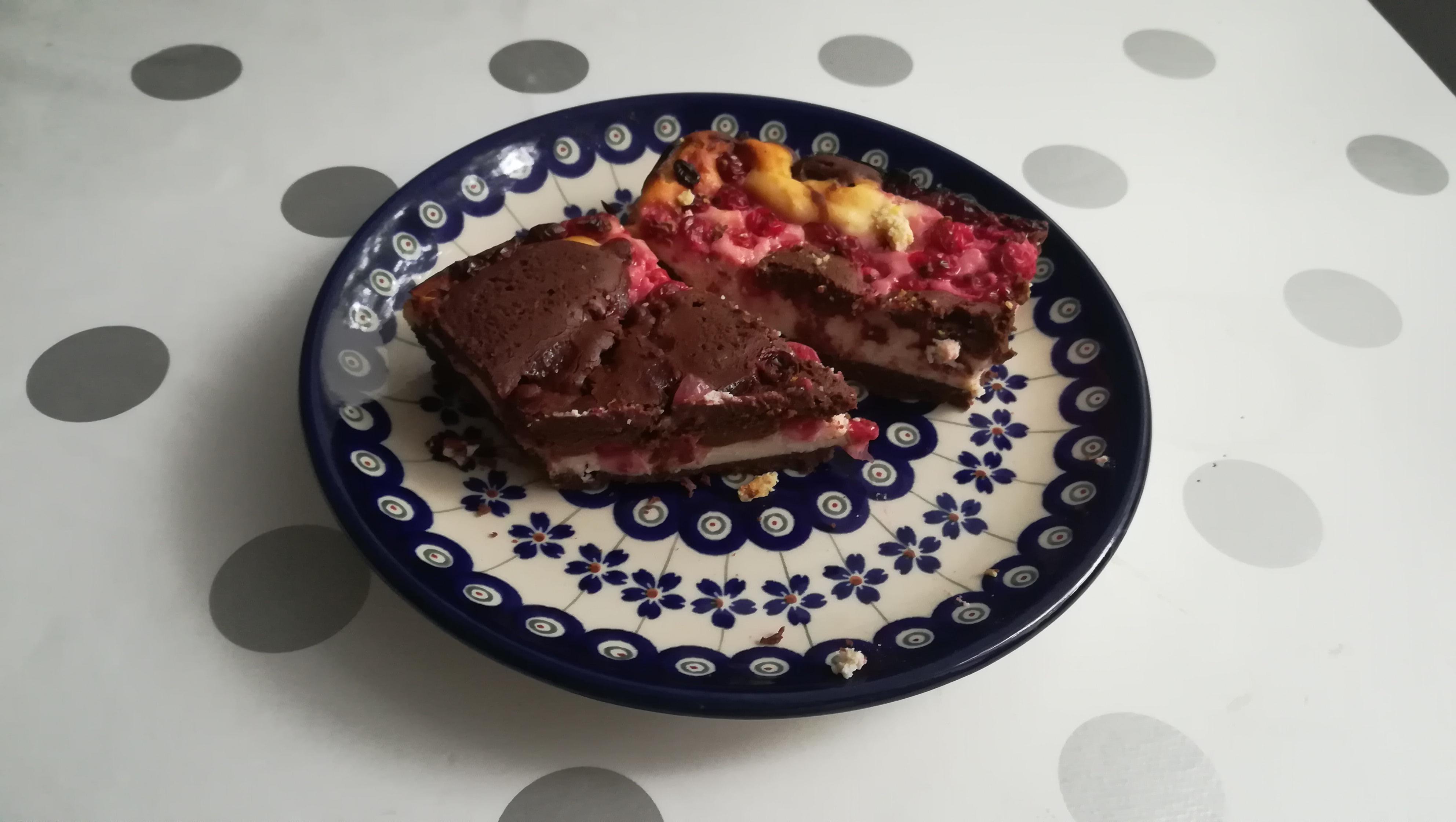 Brownie-Sernik na Międzynarodowy Dzień Sernika 1