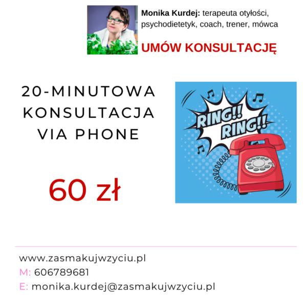 20-minutowa konsultacja za 60 zł 1