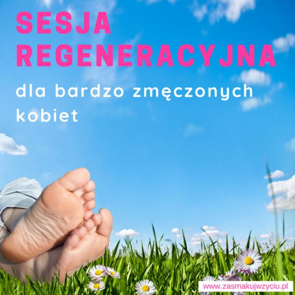 Pojedyncza sesja regeneracyjna dla bardzo zmęczonych kobiet 1