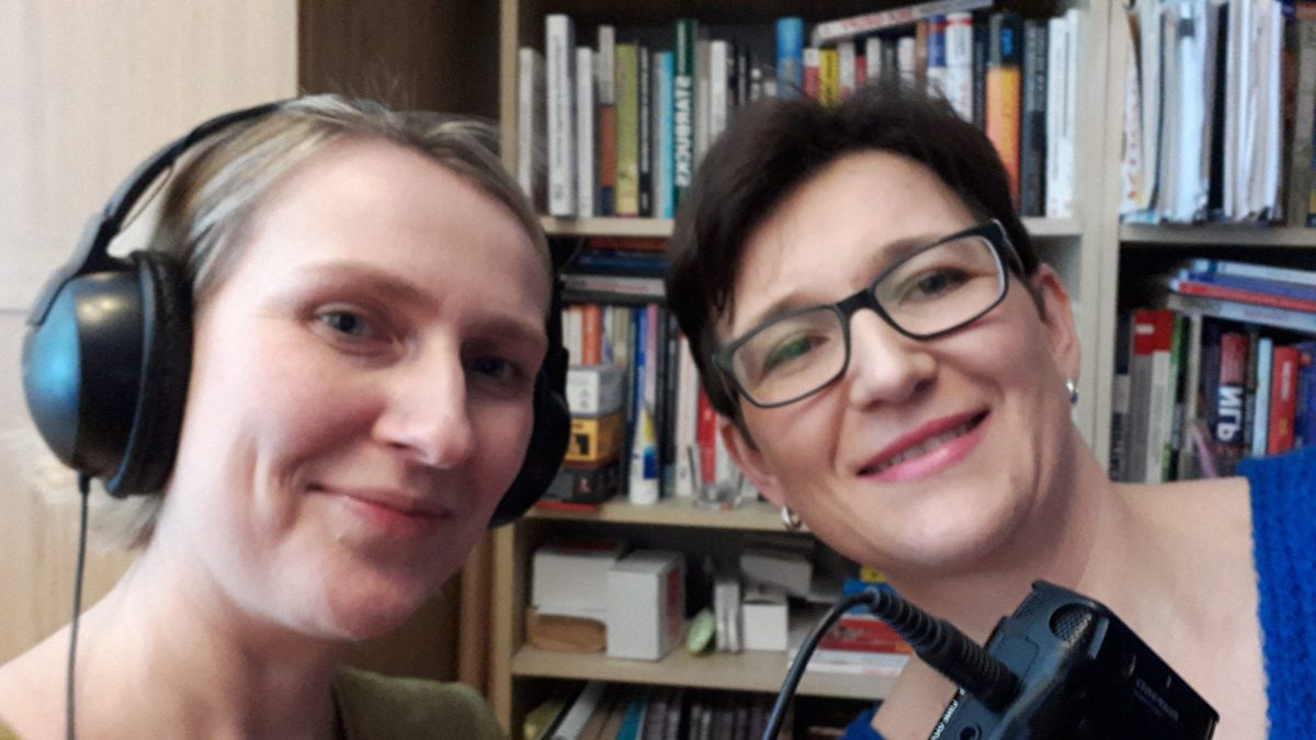 """""""Hipcia"""". Reportaż w Polskim Radio, którego jestem bohaterką. Autor: Katarzyna Błaszczyk 1"""