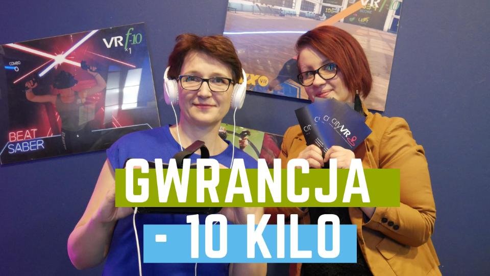 Gwarancja -10 kilo. Odchudzanie z VR studio 1