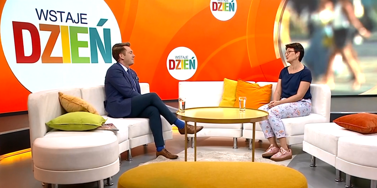 Monika Kurdej w TVPinfo. Rozmowa z Adam Giza