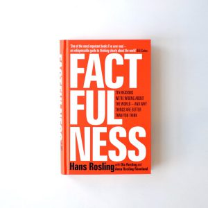 """Factfullness"" Hansa Roslinga. Najlepsza ksiażka. Ever 2"